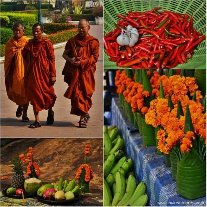 Monges e Oferendas no Laos