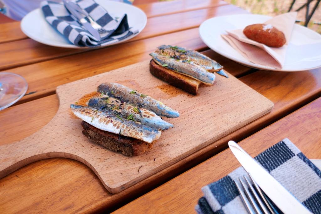 Tiborna de sardinha, Craveiral FarmTable, Odemira, Portugal